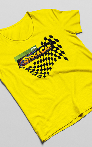 Camiseta Run Stock Car